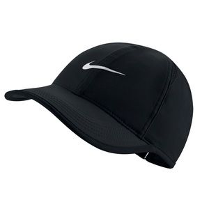 Nike AeroBill Featherlight Tennis Hat - Black